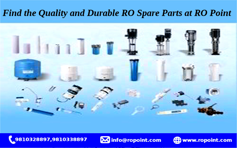 Find the Quality and Durable RO Spare Parts at RO Point