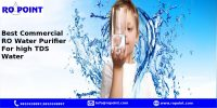 Which is the best Commercial RO Water Purifier for high TDS Water