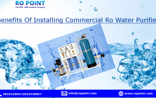 Benefits Of Installing Commercial Ro Water Purifier