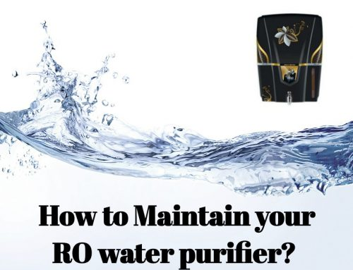 How to maintain your RO Water Purifier?
