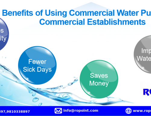Benefits of Using Commercial Water Purifier for Commercial Establishments