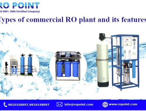 TYPES OF COMMERCIAL RO PLANT & ITS FEATURES