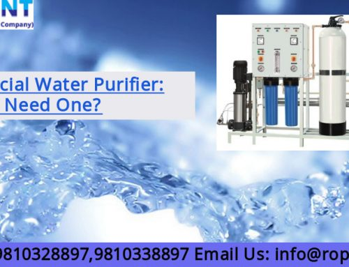 Commercial Water Purifier: Why You Need One?