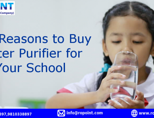 Five Reasons to Buy Water Purifier for Your School